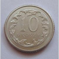 Польша 10 грошей 2016