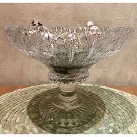 Хрустальная Чешская ваза (Glasspo)