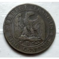 Франция 5 сантимов, 1855 B - Руан 2-6-6