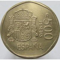 Испания 500 песет 1989 (2-22)