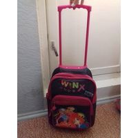 Рюкзак детский Winx с колесиками
