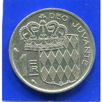 Монако 1 франк 1968
