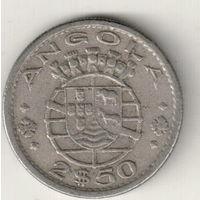 Ангола 2,5 эскудо 1969