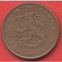 5 евроцентов Финляндия 1999