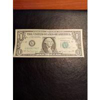1 доллар США  1988 года  L 616 81 7 81 F