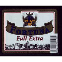 Этикетка Пиво Фортуна Польша