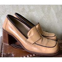 Туфли винтажные (нат.кожа)