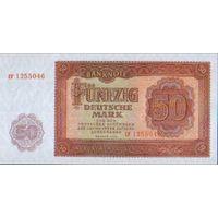 ГЕРМАНИЯ 5О МАРОК  1955 Г. УНС