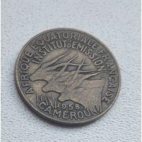 Французская Экваториальная Африка 5 франков, 1958 1-1-12