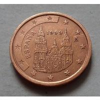 2 евроцента, Испания 1999 г.