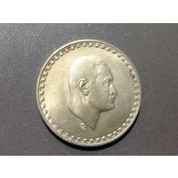 1 фунт 1970г Насер. (Серебро)