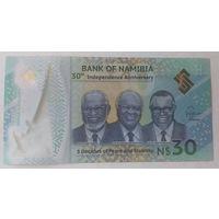 Намибия 30 долларов 2020 года полимерная
