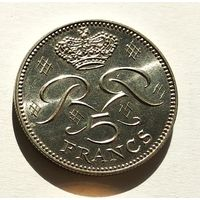 Монако 5 франков, 1982 5-5-2
