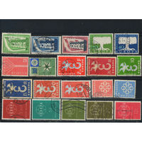 Europa CEPT 1956-95 Набор (8 сканов) R