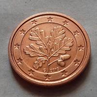 1 евроцент, Германия 2013 G, UNC