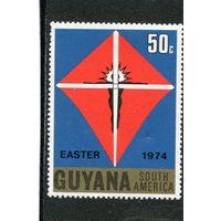 Гайяна. Пасха 1974