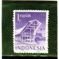 Индонезия. Mi:ID 33C. Храмы и здания - дом Toraja. 1949.