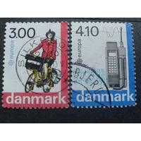 Дания 1988 Европа полная серия