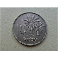 Нигерия 10 кобо 1976