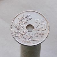 Бельгия 25 сантимов 1921