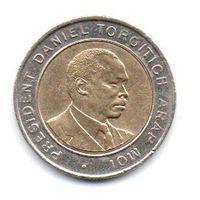 РЕСПУБЛИКА КЕНИЯ. 5 ШИЛЛИНГОВ 1997.