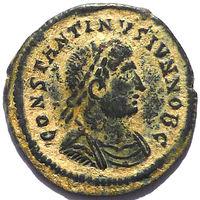 КОНСТАНТИН II (338-340г.) ГЕРАКЛЕЯ. АЕ ФОЛЛИС.
