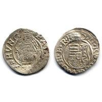 Денарий 1579 KB, Венгрия, Рудольф II