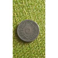 Египет 5 / 10 гирш 1293 / 27 Султан: Абдул-Хамид II (1876 - 1909)