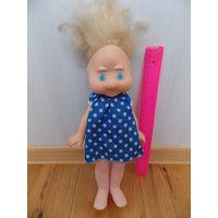 Кукла СССР  (резиновое лицо), интересная