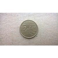 Польша 5 грошей, 2011г. (D-16)