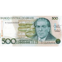 Бразилия, 500 крузадо, ND, UNC