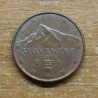 1 евроцент 2013 Словакия_РАСПРОДАЖА КОЛЛЕКЦИИ