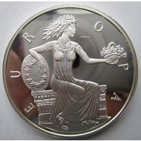Андорра. 10 динеров (экю) 1998. Серебро. Пруф. 213