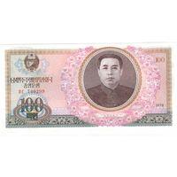 100 вон северной кореи 1978 года