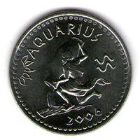 Сомалиленд 10 шиллингов 2006 года.Водолей.