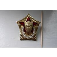 """Знак """"Отличник милиции"""",СССР"""