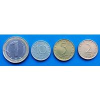 Болгария набор монет (1 лев, 2, 5, 10 стотинок)
