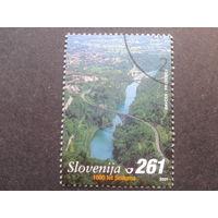 Словения 2001 1000 лет мосту