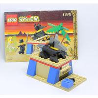 LEGO Открывающаяся пирамида со сфинксом, с двумя минифигурками, с инструкцией.
