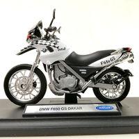 Мотоцикл BMW F650 Gs Dakar коллекция Welly 1/18