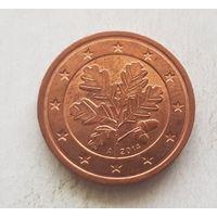 2 евроцента 2014 Германия A