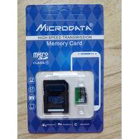 Карта памяти MicroSD 32Gb class10 с адаптером