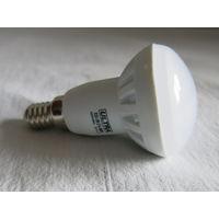 LED Светодиодная лампочка 5w(50ват) E14 (маленький цоколь) подходит в подвесной потолок матовая энергосберегающая