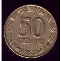 50 центов 2000 год Литва