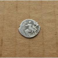 Деньга Ивана IV Грозного, серебро