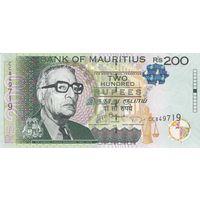 Маврикий 200 рупий 2013 года (UNC)