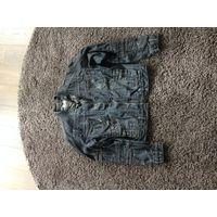 Джинсовая куртка, джут
