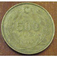 Турция, 500 лир 1990