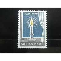Дания 1970 свеча