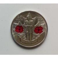 25 центов КАНАДА 2010 г.